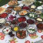 Çakırlar Bizim Köy Kahvaltı Evi'nde köy kahvaltısı